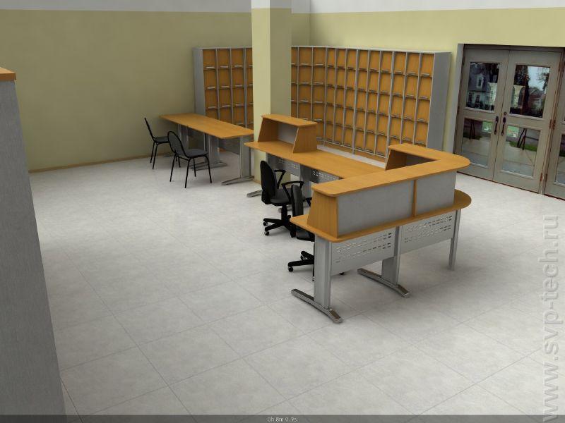 3d-моделирование свп-техникс - оборудование для библиотек, м.