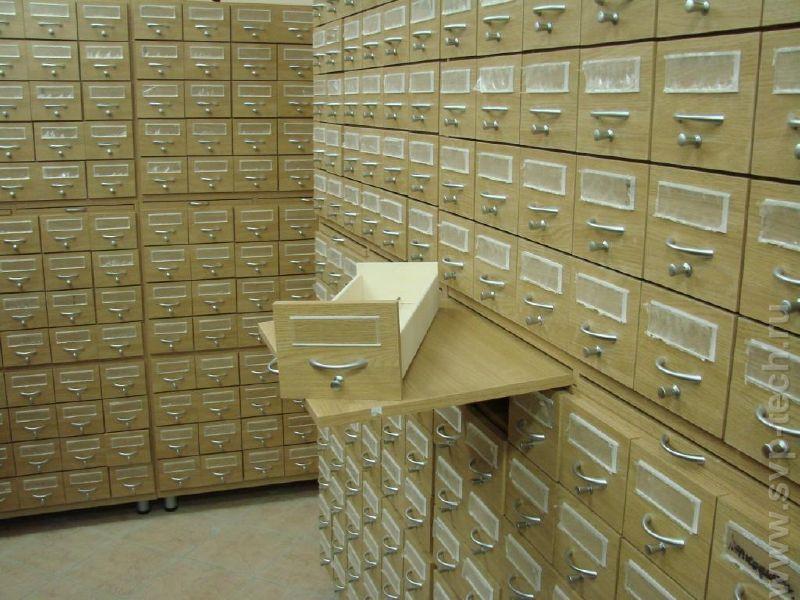 Каталожные шкафы свп-техникс - оборудование для библиотек, м.